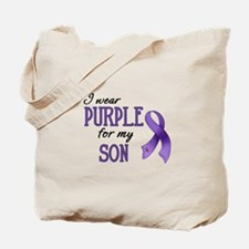 Wear Purple - Son Tote Bag