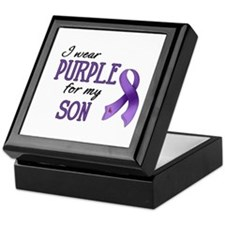 Wear Purple - Son Keepsake Box
