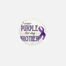 Wear Purple - Brother Mini Button