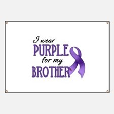 Wear Purple - Brother Banner