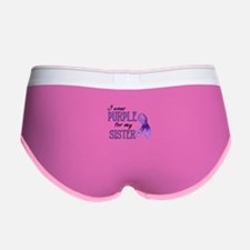 Wear Purple - Sister Women's Boy Brief