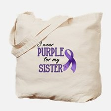 Wear Purple - Sister Tote Bag