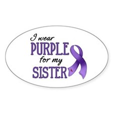 Wear Purple - Sister Decal