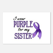 Wear Purple - Sister Postcards (Package of 8)