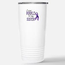 Wear Purple - Sister Travel Mug