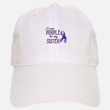 Wear Purple - Sister Baseball Baseball Cap