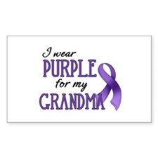Wear Purple - Grandma Decal