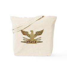 Gold Legion Eagle Tote Bag