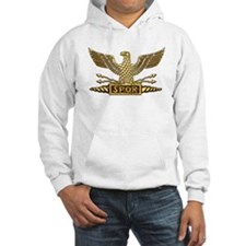 Gold Legion Eagle Hoodie