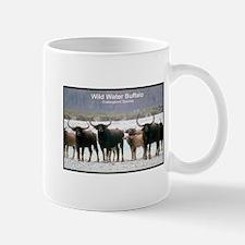 Wild Water Buffalo Photo Mug