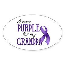 Wear Purple - Grandpa Decal