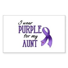 Wear Purple - Aunt Decal