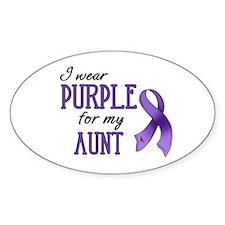 Wear Purple - Aunt Decal