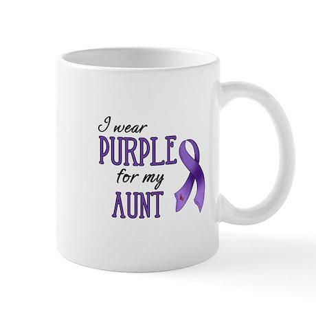 Wear Purple - Aunt Mug