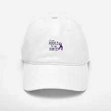 Wear Purple - Auntie Baseball Baseball Cap