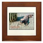 Gila Monster Lizard Photo Framed Tile
