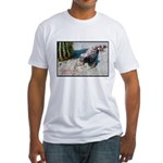 Gila Monster Lizard Photo (Front) Fitted T-Shirt