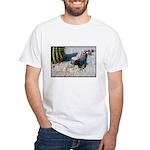 Gila Monster Lizard Photo (Front) White T-Shirt