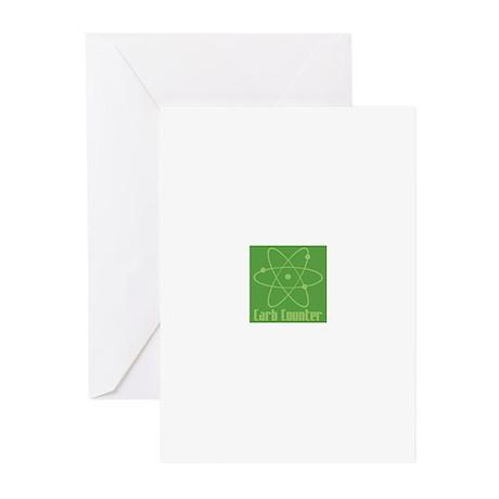 Genius Carb Counter Greeting Cards (Pk of 10)