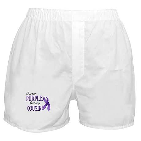 Wear Purple - Cousin Boxer Shorts