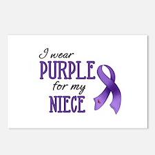 Wear Purple - Niece Postcards (Package of 8)