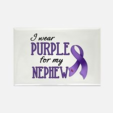 Wear Purple - Nephew Rectangle Magnet