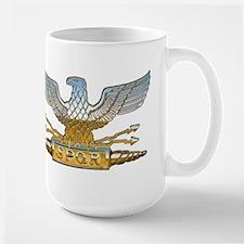 Chrome Roman Eagle Large Mug