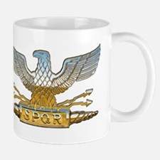 Chrome Roman Eagle Mug