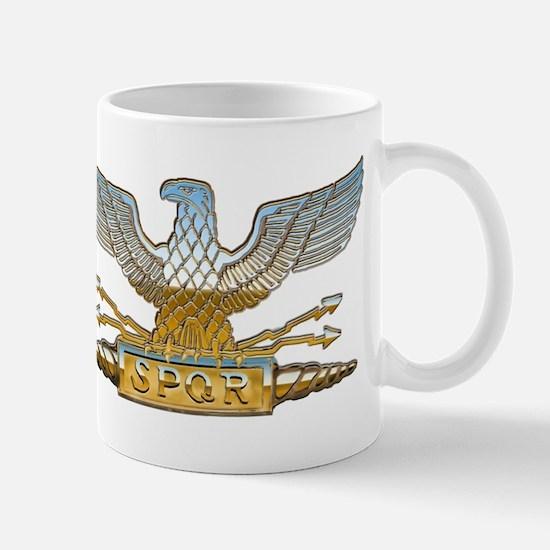 Chrome Roman Eagle Mug