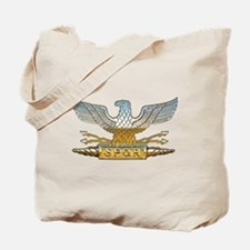 Chrome Roman Eagle Tote Bag