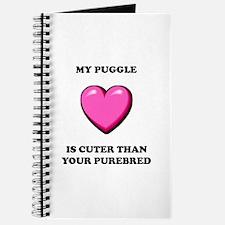 Puggle Cuter Journal