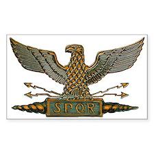Roman Eagle in Copper Decal