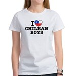 I Love Chilean Boys Women's T-Shirt