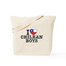 I Love Chilean Boys Tote Bag
