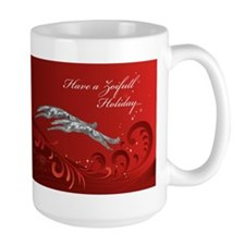 Large Zoifull Holiday Mug
