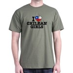 I Love Chilean Girls Dark T-Shirt