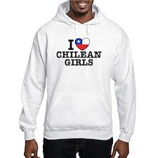 I Love Chilean Girls Hoodie