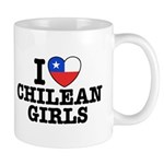 I Love Chilean Girls Mug