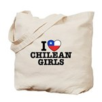 I Love Chilean Girls Tote Bag
