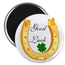 Good Luck Horseshoe Magnet
