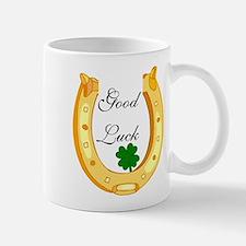 Good Luck Horseshoe Mug