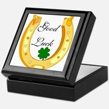 Good Luck Horseshoe Keepsake Box