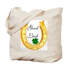 Good Luck Horseshoe Tote Bag
