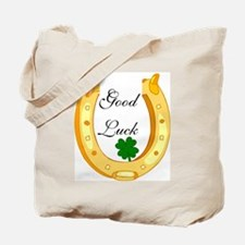 Good Luck Horseshoe Tote Bag