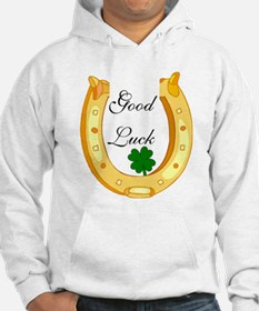 Good Luck Horseshoe Hoodie