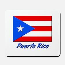 PUERTO RICO FLAG Mousepad
