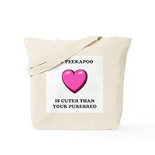 Peekapoo Cuter Tote Bag