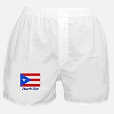 PEURTO RICO FLAG Boxer Shorts