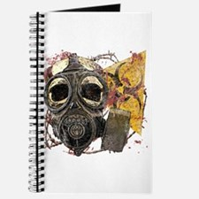 Gasmask Skull Apocolypse Journal