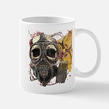 Gasmask Skull Apocolypse Mug